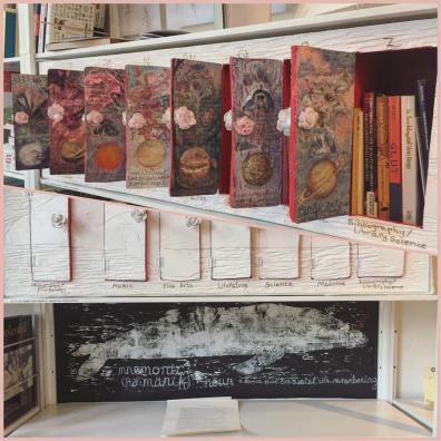 Mnemonic Whale - Working Library installation (two views)